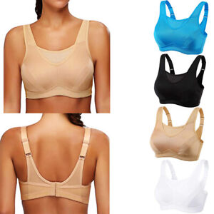 Women-039-s-High-Impact-Wireless-Non-Padded-Full-Coverage-Top-Gym-Active-Sports-Bra