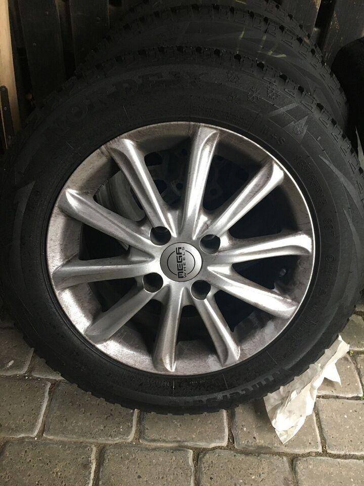 "Alufælge, 15"", Mega Wheels R15"