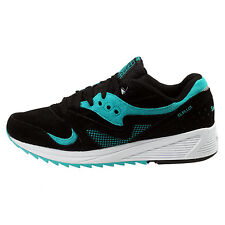 3ae2ee388b79 item 6 Saucony Grid 8000 CL Mens S70223-1 Black Teal Athletic Running Shoes  Size 9.5 -Saucony Grid 8000 CL Mens S70223-1 Black Teal Athletic Running  Shoes ...