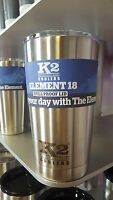 K2 Element 18 Stainless Steel Tumbler W/ Lid -