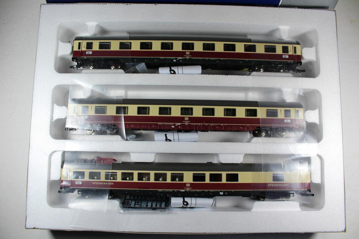ROCO 74122  3 pezzi Zugset 1  tè 2627 Erasmus, Db Ep. IV nuovi.