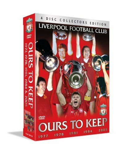 1 of 1 - Liverpool FC DVD Ours To Keep 4 Disc Box set 77/78/81/84/05 The Road To Istanbul