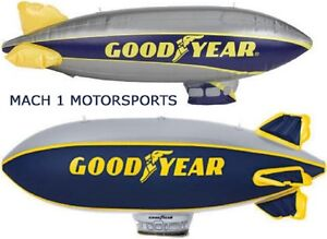 """NEW Pair of GOODYEAR Inflatable BLIMP 33"""" NIP Scenery for Scalextric SCX LIONEL"""