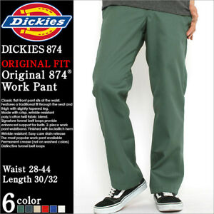 separation shoes d6196 4d298 Image is loading Dickies-874-Original-Classic-Work-Pants-Various-Colors-