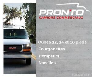 2012 GMC Savana Cube, Cargo, Reefer, Dompeur, Nacelle, Tout Équipé