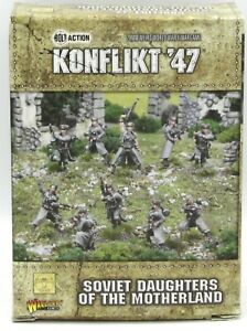 KONFLIKT /'47 WARLORD GAMES SOVIET DAUGHTERS OF THE MOTHERLAND