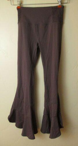 Free People Movement purple pants flare leg yoga b
