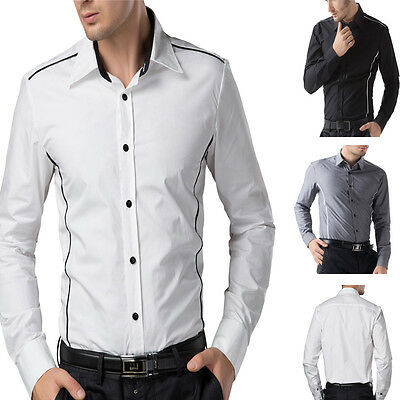 Amazing Herren Slim Fit Business Hemd Langarm Freizeit Modell Herrenhemd Shirts