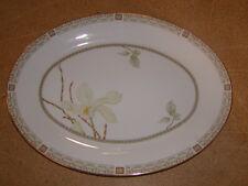 "Royal Doulton England China 13"" Oval Serving Platter White Nile TC 1122"