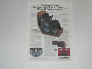 Bose-901-Speaker-Ad-Series-4-IV-1-Page-039-80-Article-and-Info-Acoustic-Matrix