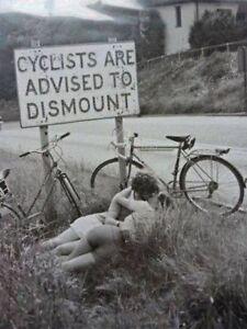 Vintage-Cyclists-Dismount-Photo-463-Oddleys-Strange-amp-Bizarre