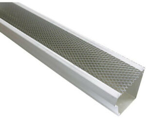 Spectra Metals 5 In X 4 Ft Armour Screen Lock On Gutter