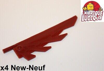Lego Technic 2x Liftarm 1x11 thick épais rouge//red 32525 NEUF