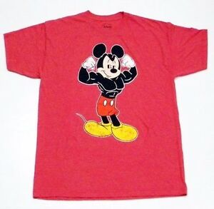 Disney Muscle Bodybuilding Mickey Mouse Men 39 S T Shirt