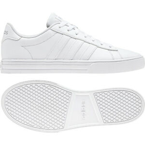 68ebebe8dadb6a Details about adidas Daily 2.0 White Grey Men Classic Casual Lifestyle  Shoes Sneakers BB7187