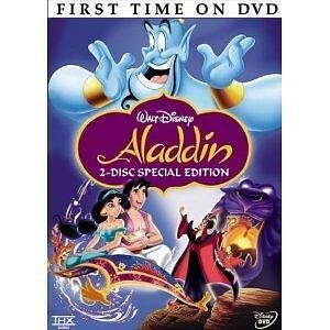 Aladdin (DVD, 2004, 2-Disc Set, Special Edition) Disney New