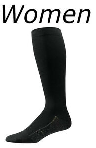 3d19df79bb Lg S4000 Aetrex Copper Sole Compression Socks Knee Hi Women Size 11 ...