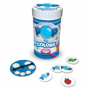 Learning Resources Pop for Colors Game Ages 3+ Years Fun School Project Science