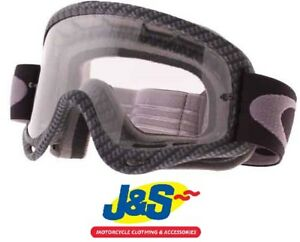 ab6b97ae104 Oakley O Frame MX Goggles Motocross Off-Road MotoX True Carbon Clear ...