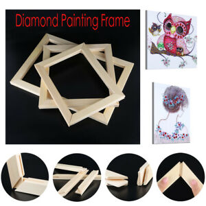 5D-Diamond-Painting-Frame-Picture-Wooden-Frame-DIY-Cross-Stitch-Embroidery