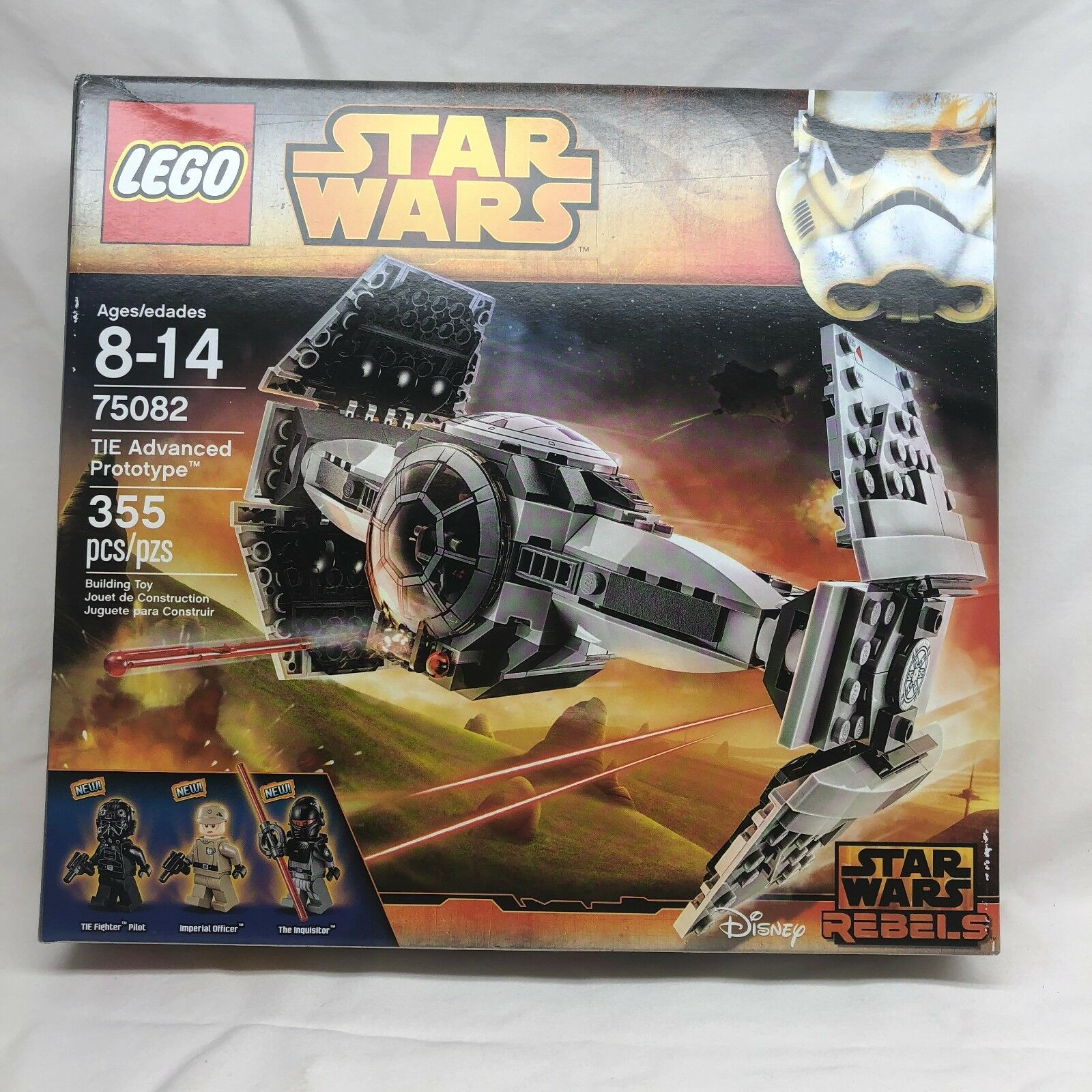 LEGO Star Wars Rebels 75082 TIE Advanced Prototype New Sealed