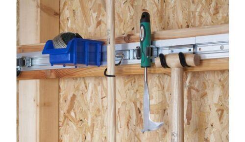 2 x appareils barre support appareil barre d/'outils balai support en aluminium 50 CM NEUF