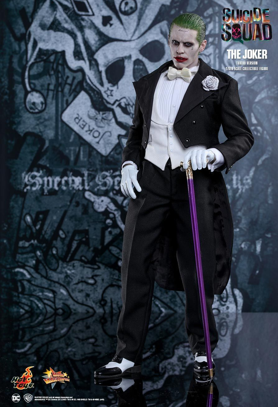 SUICIDE SQUAD - The Joker 1/6th 1/6th 1/6th Scale 'Tuxedo' Action Figure MMS395 (Hot Toys) 17bfe9