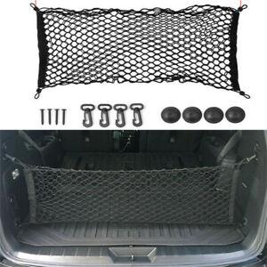 Car Accessories Rear Cargo Organizer Storage Elastic String Net Mesh Bag Pocket