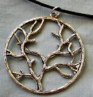 LARGE ~~ SILVER ~~ TREE_OF_LIFE ~~ NECKLACE --- (GREAT_CHRISTMAS_GIFT)