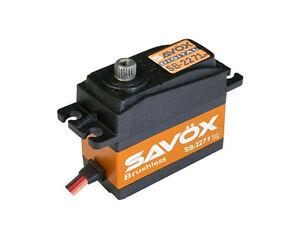 Savox Sb-2271sg Servo Digitale Brushless 20kg - Haute Tension 7.4v