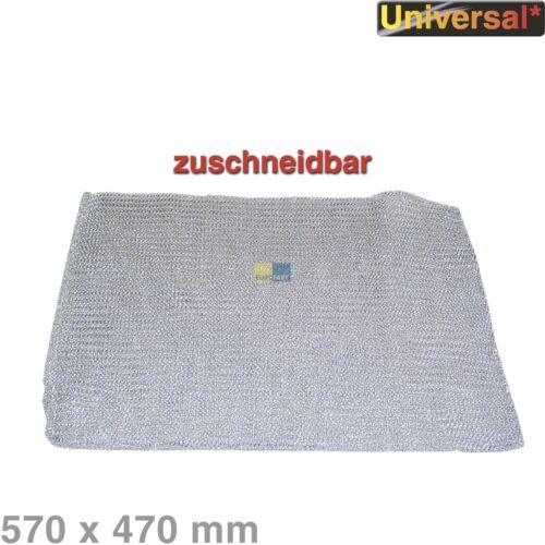 Fettfilter Fettfiltermatte Metall 570 x 470 mm Dunstabzugshaube universell
