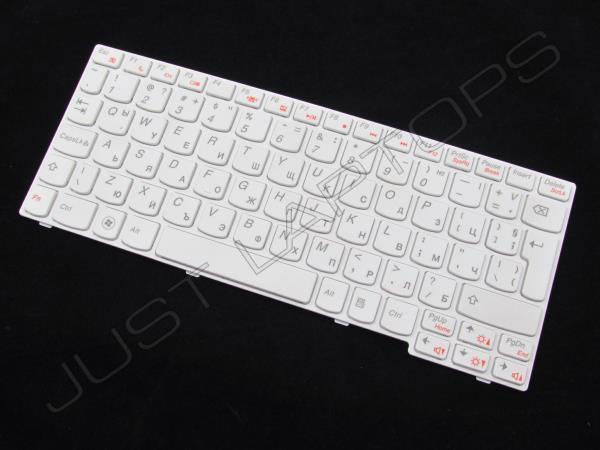 New Original Lenovo IdeaPad U165 Bulgarian Keyboard Balgarski Klavishyen White