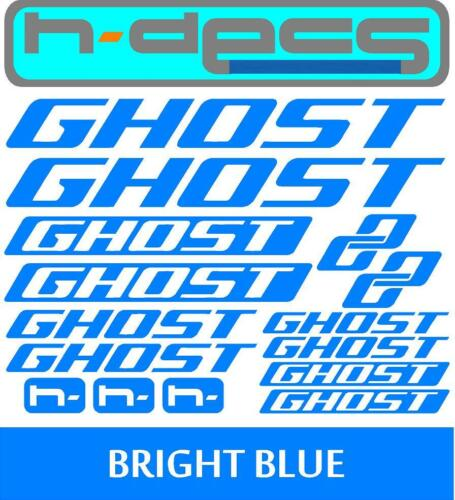 stickers, cycling, mtb, bmx, road, bike Ghost Bikes T2 Die-cut decal sheet.
