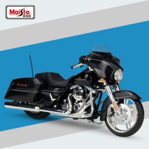 Maisto-1-12-Scale-Alloy-Metal-Model-Harley-2015-Street-Glide-Special-Motorcycle