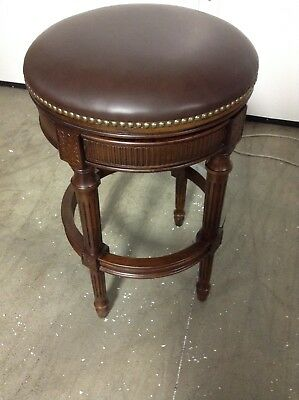 Frontgate Chapman Backless Swivel Counter Bar Stool 30