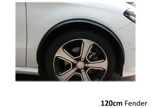 2x-Radlauf-CARBON-opt-seitenschweller-120cm-fuer-KIA-Clarus-Kombi-GC-Tuning