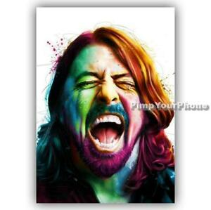 A4 A3 A2 A1 A0 SIZES FOO FIGHTS DAVE GROHL POSTER ART PRINT