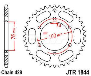 R184440-JT-SPROCKETS-Corona-JT-R1844-de-acero-con-40-dientes