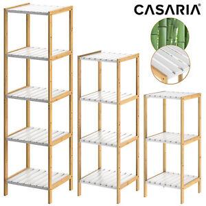Estanteria-de-bambu-con-3-4-o-5-estantes-Blanco-80-110-140x33x34cm-Natural