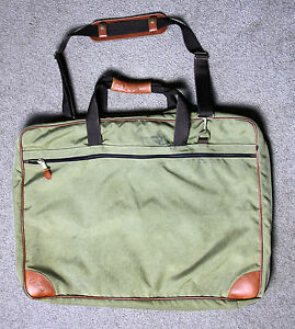 vintage ll bean garment clothing travel bag luggage