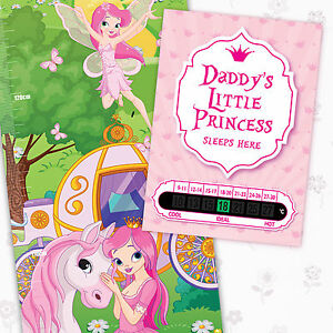 A6 Princess Room Thermometer and Princess Height Chart & free stickers