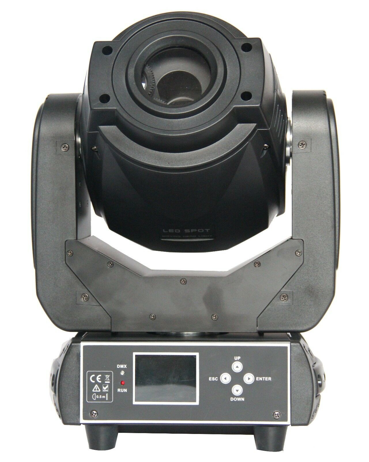 90W 2 gobe LED Spot Moving Head Light Professional DJ Stage Party Disco Lights