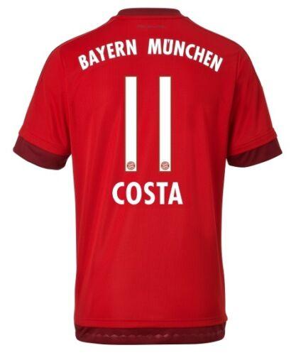 Douglas Costa FCB Trikot Adidas FC Bayern München 2015-2016 Home 152 bis 3XL