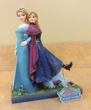 Jim Shore Disney Traditions Frozen Anna & Elsa Sisters Forever Statue 4039079