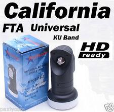 FTA Universal Single 0.2 dB Ku Band Satellite Dish LNB Avenger KSC321S-2 HD