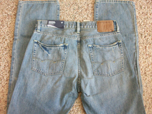 29x30 Ship Vintage Original Uomo American Straight Jeans Eagle New Light Free vYHOqqw