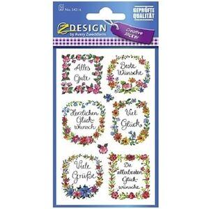 Avery Zweckform Widmung Aufkleber, Etiketten, Sticker Buchsticker 18 Stück