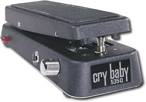 Dunlop 535q Crybaby Black Multi Wah Guitar Effect Pedal