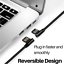 miniature 6 - Right Angle 90 Degree Android Charger Fast Charging Micro USB Cable 3/ 6/ 10 Ft