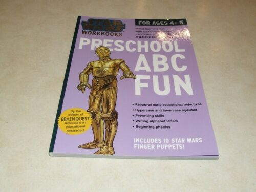 1 of 1 - Star Wars Workbooks: ABC Fun Ages 4-5 by Scholastic (Paperback, 2015)
